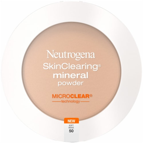 Neutrogena SkinClearing 50 Soft Beige Mineral Powder Perspective: front