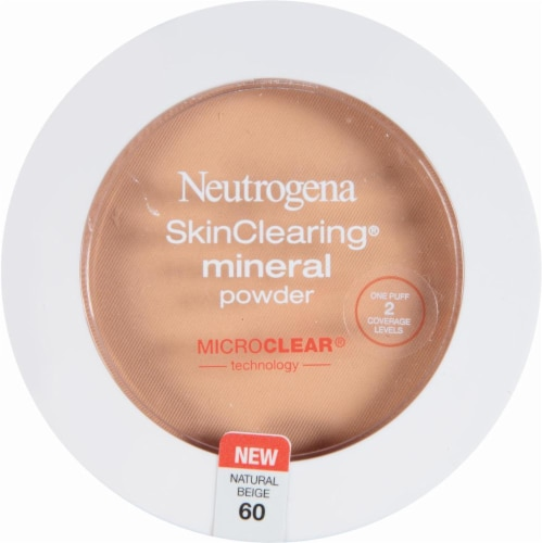 Neutrogena SkinClearing 60 Natural Beige Mineral Powder Perspective: front