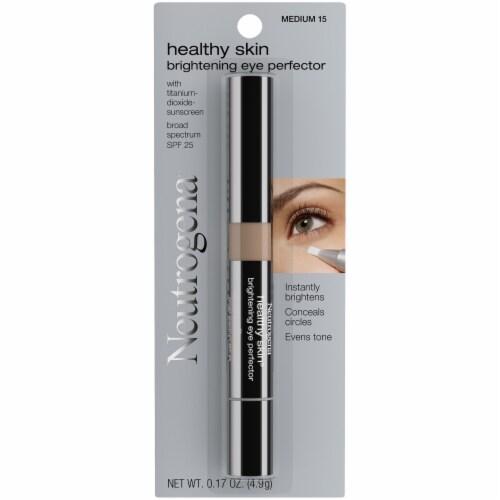 Neutrogena Healthy Skin 15 Medium Eye Perfector SPF 25 Perspective: front