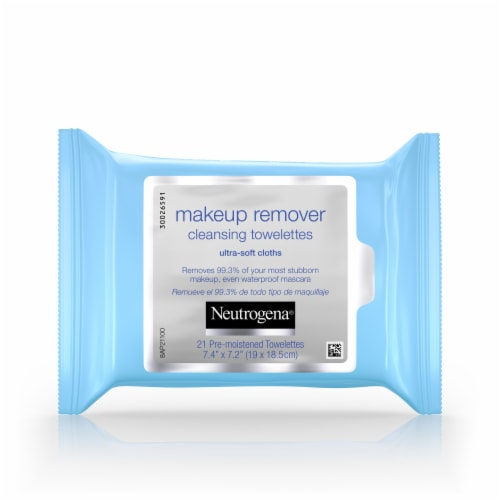 Neutrogena Makeup Remover Cleansing Towelettes Perspective: front