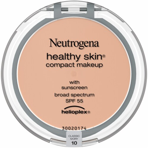 Neutrogena Healthy Skin Classic Ivory 10 Compact Makeup Perspective: front