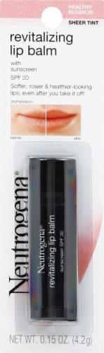 Neutrogena Healthy Blush 20 Sheer Tint Revitalizing Lip Balm SPF 20 Perspective: front