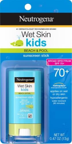 Neutrogena Wet Skin Kids Sunscreen Stick SPF 70 Perspective: front