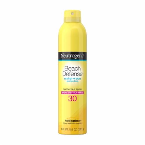 Neutrogena Beach Defense SPF 30 Sunscreen Spray Perspective: front