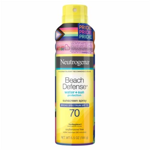 Neutrogena Beach Defense Water + Sun Protection Sunscreen Spray SPF 70 Perspective: front