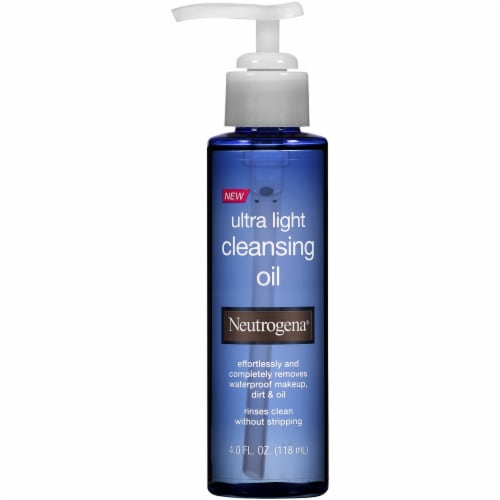 Neutrogena Ultra Light Cleansing Oil Perspective: front