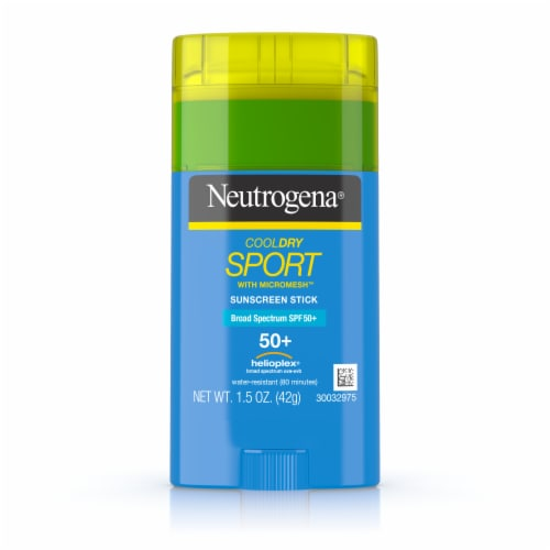 Neutrogena CoolDry Sport Sunscreen Stick SPF 50 Perspective: front