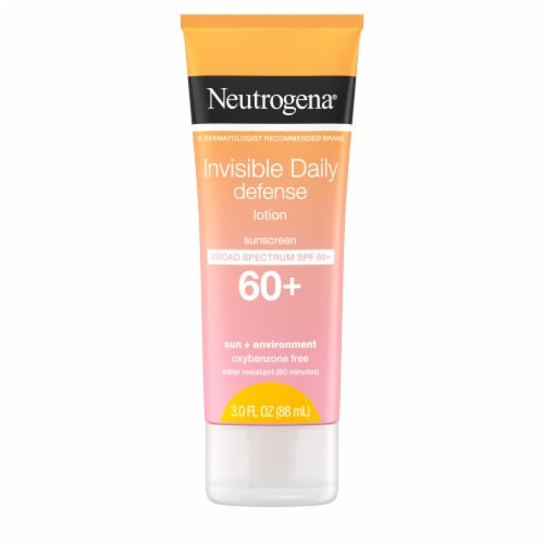 Neutrogena Invisible Daily Defense Lotion SPF 60+ Perspective: front