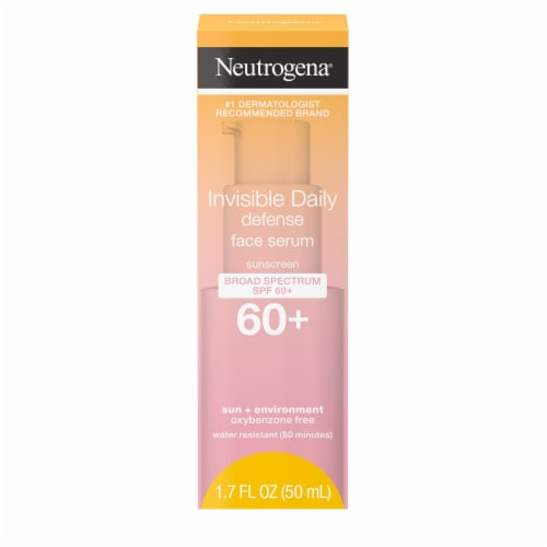 Neutrogena Invisible Daily Defense Face Serum SPF 60+ Perspective: front