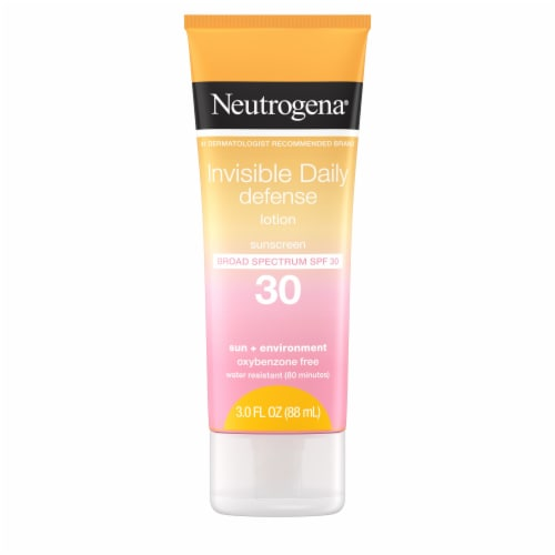 Neutrogena Invisible Daily Defense Lotion SPF 30 Perspective: front