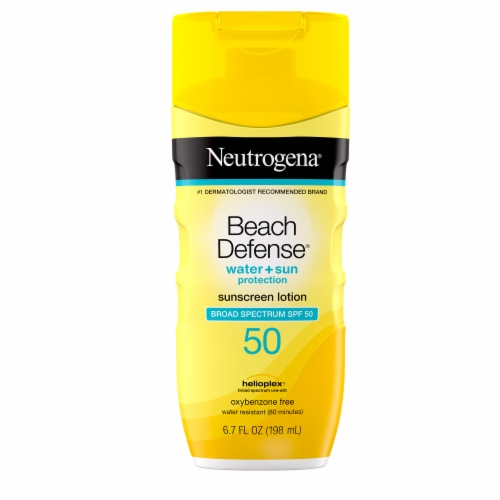 Neutrogena Beach Defense Lotion SPF 50 Perspective: front