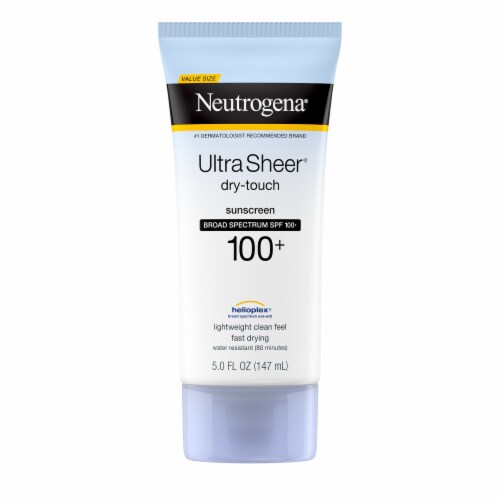 Neutrogena Ultra Sheer Dry Touch Sunscreen Lotion SPF 100+ Perspective: front
