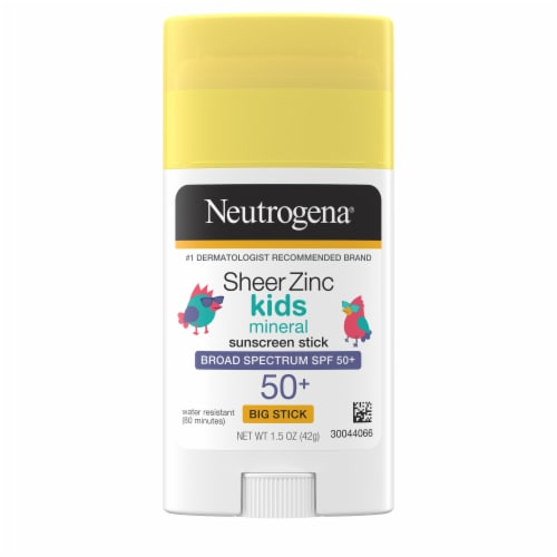 Neutrogena Kids Sunscreen Stick SPF 50 Perspective: front