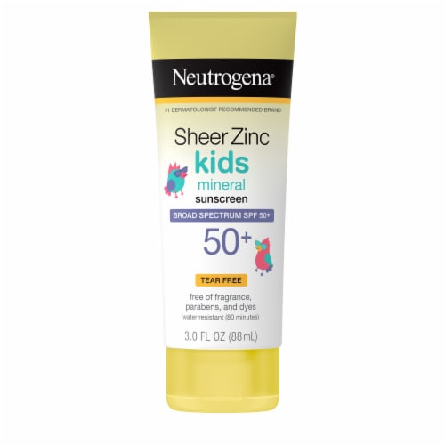 Neutrogena Kids Sunscreen SPF 50 Perspective: front