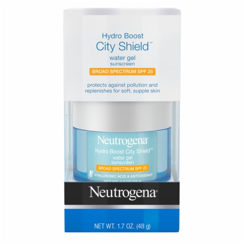 Neutrogena Hydro Boost City Shield Water Gel Sunscreen SPF 25 Perspective: front