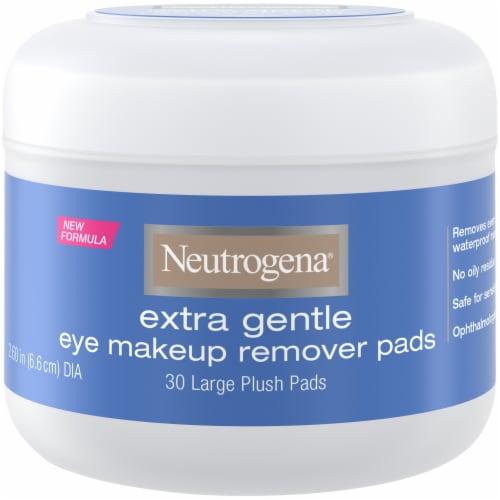 Neutrogena Extra Gentle Eye Makeup Remover Pads Perspective: front