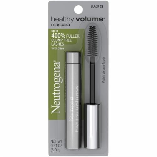 Neutrogena Healthy Volume 02 Black Mascara Perspective: front