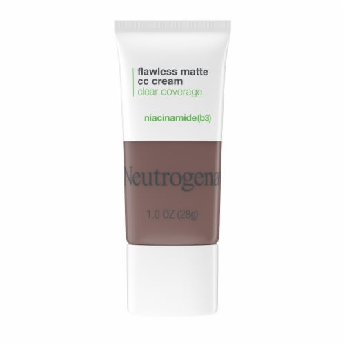 Neutrogena Clear Coverage 10 Sienna Flawless Matte CC Cream Perspective: front