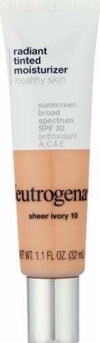 Neutrogena 10 Sheer Ivory Radiant Tinted Moisturizer Perspective: front