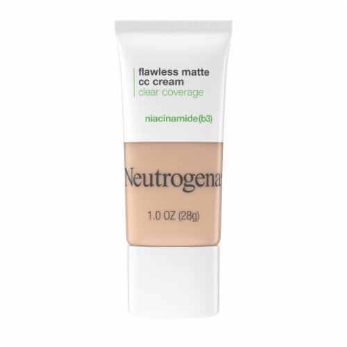 Neutrogena Flawless Matte Fawn CC Cream Perspective: front