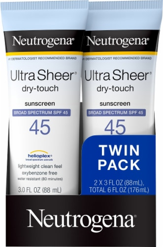 Neutrogena Ultra Sheer Dry-Touch Sunscreen Lotion SPF 45 Perspective: front