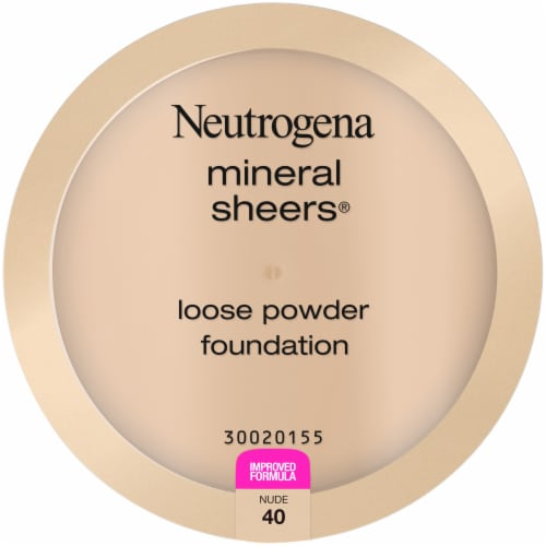 Neutrogena Mineral Sheers Nude 40 Loose Powder Foundation Perspective: front