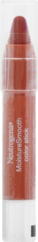 Neutrogena MoistureSmooth Berry Brown Color Stick Perspective: front