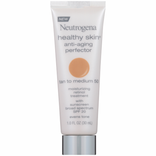 Neutrogena Healthy Skin Tan to Medium SPF 20 Anti-Aging Perfector Perspective: front