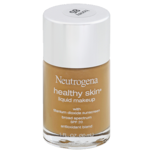 Neutrogena Healthy Skin 85 Honey Liquid Makeup Perspective: front