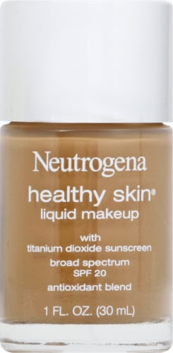 Neutrogena Healthy Skin Cocoa 115 Liquid Foundation Perspective: front