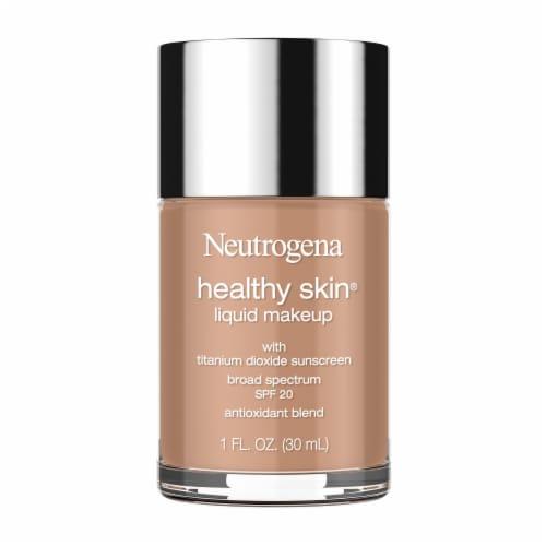 Neutrogena Healthy Skin Chestnut 135 Liquid Makeup Perspective: front
