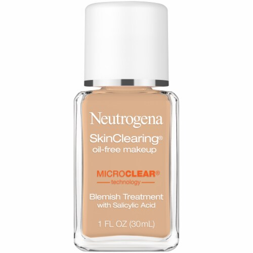 Neutrogena SkinClearing 115 Cocoa Blemish Treatment Makeup Perspective: front