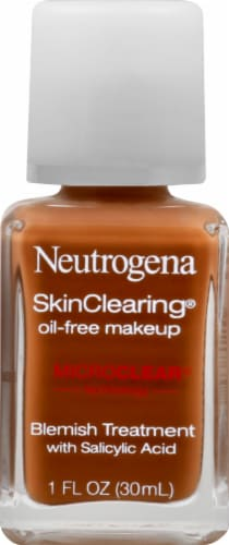 Neutrogena SkinClearing 135 Chesnut Oil-Free Makeup Perspective: front