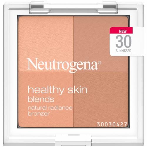 Neutrogena Healthy Skin Blends Natural Radiance Sunkissed 30 Bronzer Powder Perspective: front