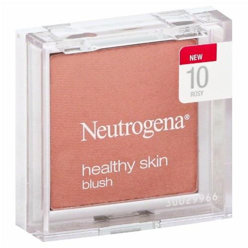 Neutrogena Healthy Skin 10 Rosy Blush Powder Perspective: front