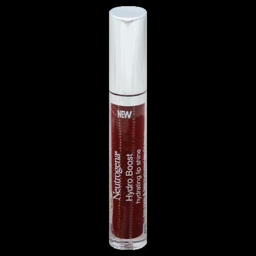 Neutrogena Hydro Boost 80 Deep Cherry Hydrating Lip Shine Perspective: front