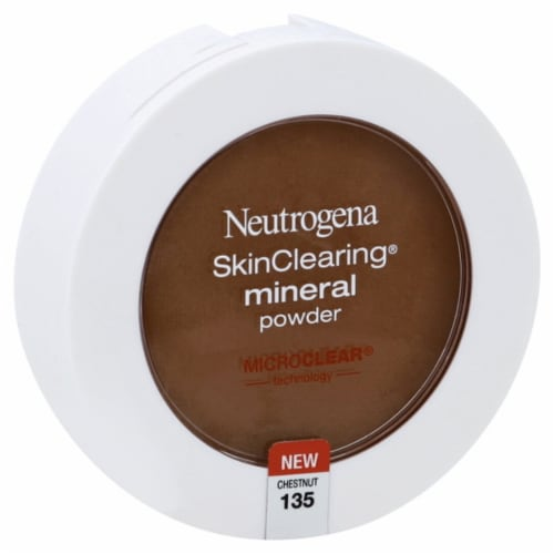 Neutrogena Chestnut SkinClearing® Mineral Powder Perspective: front