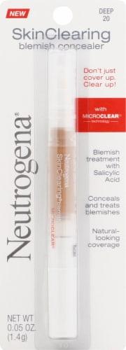 Neutrogena Skin Clear 20 Deep Concealer Perspective: front