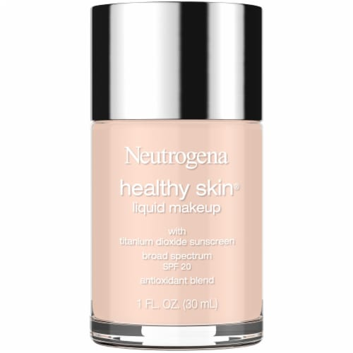 Neutrogena Healthy Skin Natural Ivory 20 Liquid Foundation Perspective: front