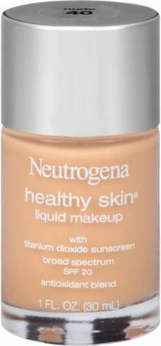 Neutrogena Healthy Skin 40 Nude Liquid Makeup SPF 20 Perspective: front