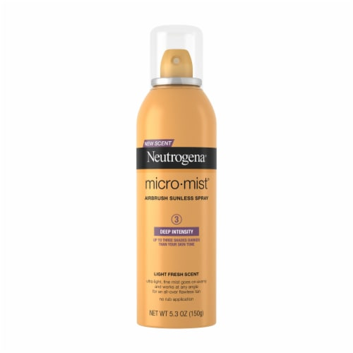 Neutrogena Micro-Mist Airbrush Deep Intensity Sunless Tan Spray Perspective: front