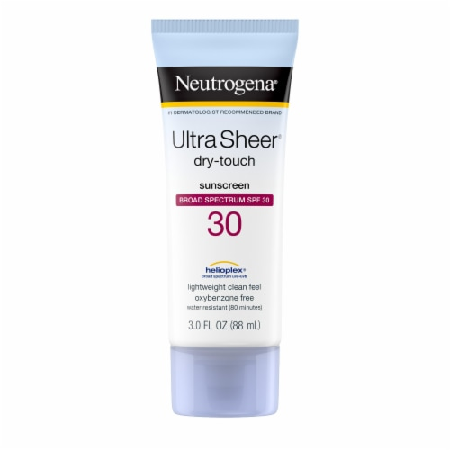 Neutrogena Ultra Sheer Dry-Touch Sunscreen SPF 30 Perspective: front