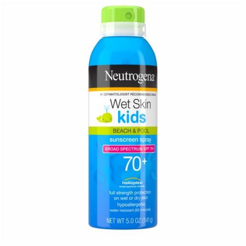 Neutrogena® Wet Skin Kids Beach & Pool Sunscreen Spray SPF 70+ Perspective: front