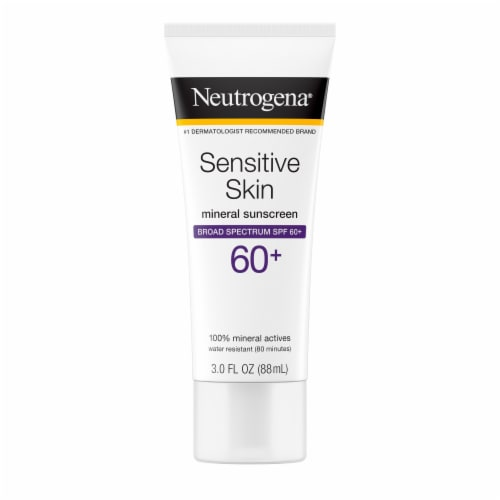 Neutrogena Sensitive Skin Sunscreen Lotion SPF 60+ Perspective: front