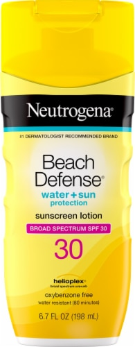 Neutrogena Beach Defense Sunscreen Lotion SPF 30 Perspective: front