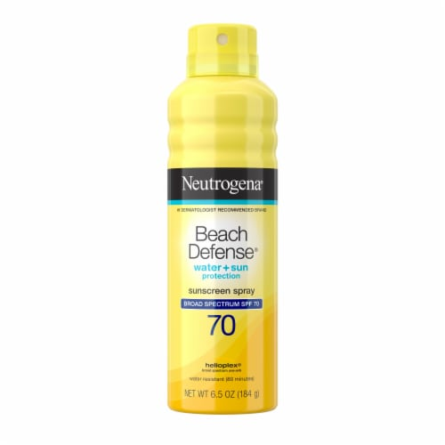 Neutrogena Beach Defense Water + Sun Protection Sunscreen Spray SPF 70 Perspective: front