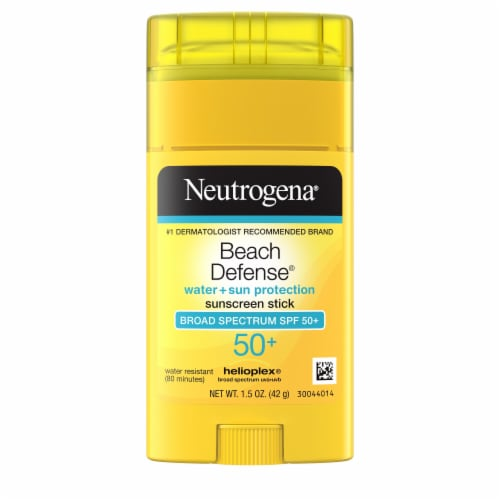 Neutrogena Beach Defense SPF 50+ Sunscreen Stick Perspective: front