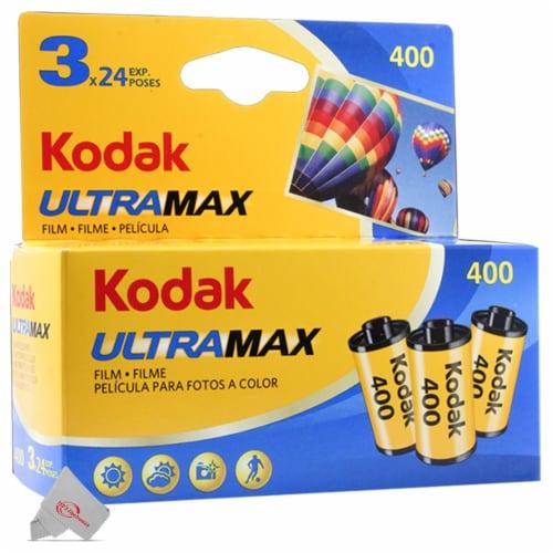 Kodak UltraMax 400 Film Perspective: front