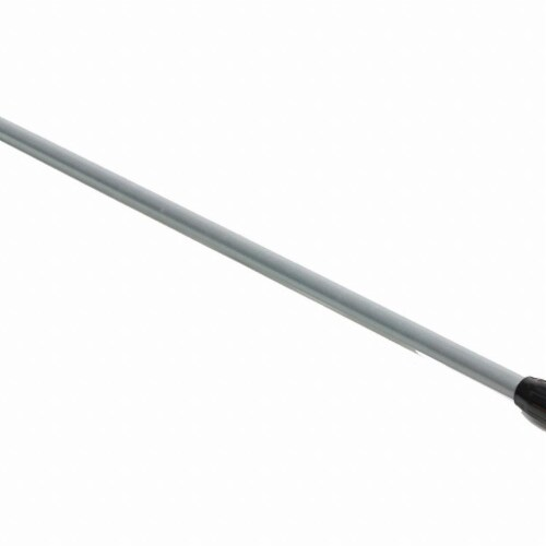 Rubbermaid Commercial Products RCP H226 Clamp Wet Mop Hndl 60 In Alumyel/Gra Perspective: front