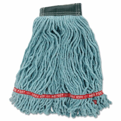 Rubbermaid String Wet Mop,22 oz.Synthetic HAWA FGA25206GR00 Perspective: front